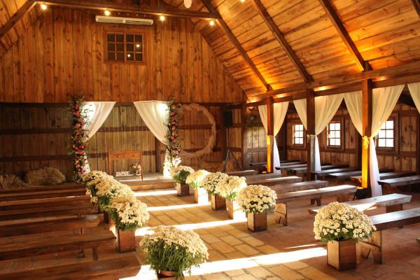 wedding floral aisle