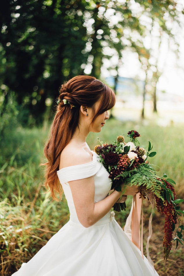 Romantic Wedding Hair Style