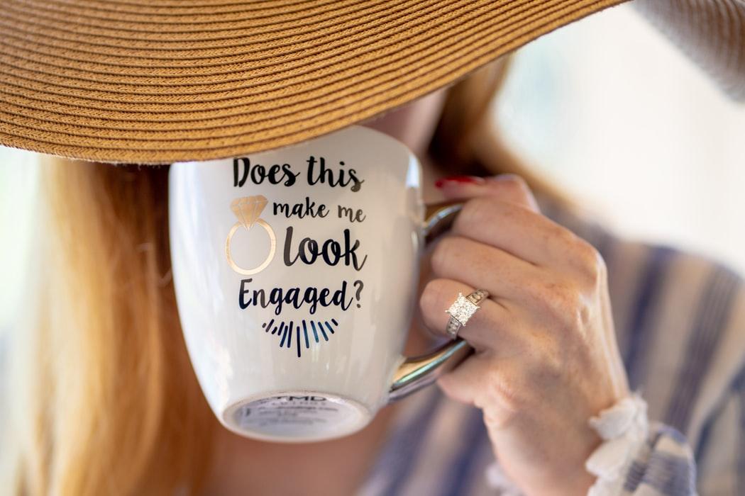 Coffee Mug- Does this Ring Make Me Look Engaged?